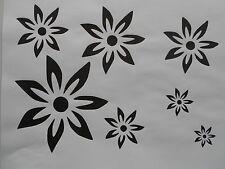 Schablone Blumen2 auf A4