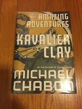 Michael Chabon Adventures of Kavalier and Clay 1st Edition/1st Printing SIGNED