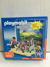 Playmobil Micro 4333 CASTELLO MEDIEVALE Playset Magnetico MIB, 2005