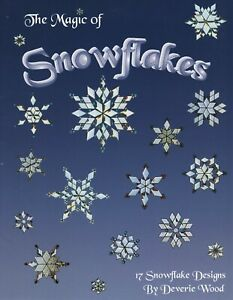 Magic of Snowflakes Stained Glass Pattern Book