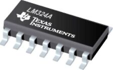 TI LM324A SOP-14 Single Supply Quad Operational Amplifiers