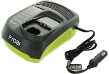 Ryobi ONE+ 18V In-Car Cigarette Lighter Outlet NiCD Lithium-Ion Battery Charger