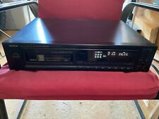 DENON DCM-450 PCM CD Auto Changer 6 Disc Changer Magazine Style CD Player.
