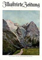 Trafoi in South Tyrol XL  art print by Robert Sterl Ortler Mountain Stilfs Italy