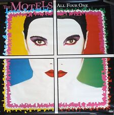 Rare The Motels All Four One 1982 Vintage Orig Music Record Store Promo Poster