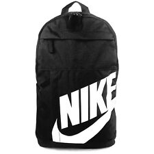 Nike Elemental BLACK /WHITE Unisex School Gym Travel Backpack Bag AU stock
