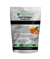 Pure Vitamin C Ascorbic Acid 1 Kg Boost Immune Aid Collagen Absorption Pharma