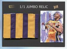 Kobe Bryant #1/1 2020 Super Break The Bar 5x7 JUMBO Relic Patch non auto MakeOfr