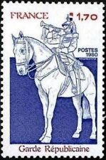 """FRANCE STAMP TIMBRE YVERT N° 2115 """" GARDE REPUBLICAINE CHEVAL 1F70"""" NEUF xx LUXE"""