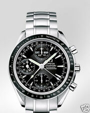 OMEGA Speedmaster Day Date Chronograph 40mm 3220.50 Black Dial New #a10004
