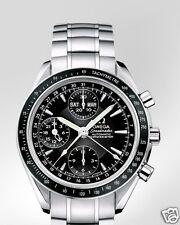 OMEGA Speedmaster Day Date Chronograph 40mm 3220.50 Black Dial Steel Band FS