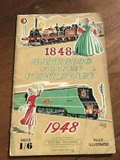 More details for waterloo station centenary 1848 - 1948 . illustrated booklet !