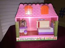 Vintage 60s/70s Bandai Miniature BEDROOM w/Box **RARE** Dream House SEAL