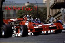 Chris Amon Martini Racing Team Tecno PA123B Monaco Grand Prix 1973 Photograph 1