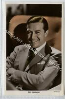 (Lc9142-462) RP, Actor Ray Milland, Unused VG-EX