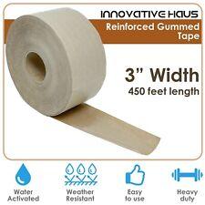 Innovative Haus 3 Width X 450 Ft Fiberglass Reinforced Gummed Tape For Package