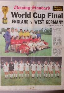 SOCCER World Cup 1966 Final - England v West Germany - Special Souvenir EDITION
