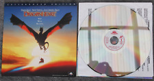Laser Disc Movie: DRAGONHEART Dennis Quaid, Sean Connery - Collectible