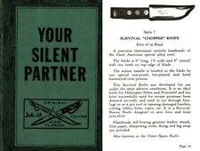 EK, JOHN Your Silent Partner c1965 Fightin Knives