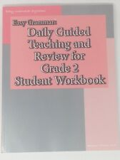 Easy Grammar Daily Guided Teaching and Review Grade 2 Student Workbook