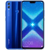 """Nouveau Huawei Honor 8X 6.5"""" 64 Go bleu Débloqué dual sim 4 G LTE Android 8.0"""