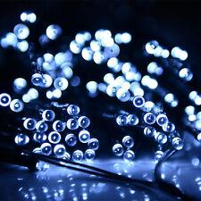 100 LED Fairy Lamp Christmas Wedding Party Decor Outdoor Solar String Light