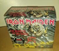 IRON MAIDEN The Number Of The Beast CD + EDDIE FIGURE + PATCH LIMITED EDITION