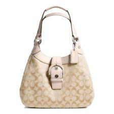 NWT Coach 17094 Flush Soho Signature Hobo Handbag