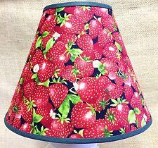 Strawberries Lampshade Strawberry Fruit Handmade Lamp Shade
