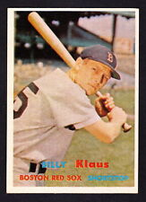New listing 1957 TOPPS #292 BILLY KLAUS RED SOX
