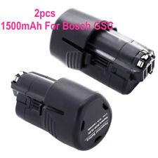 2pcs Rechargeable Battery For Bosch CLPK GDR GOP GSB GSR PS Series 1500mah 10.8V