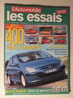 L AUTOMOBILE MAGAZINE HORS SERIE 2001/2002 - LES ESSAIS *