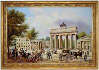 Ölbild Brandenburger Tor von Berlin, K.Loeillot, ÖLGEMÄLDE HANDGEMALT F:60x90cm