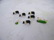1/64 Ertl Farm Country Pigs Chicken And Duck