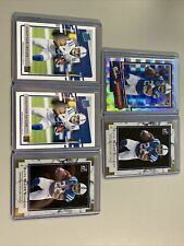 2020 Donruss Jonathan Taylor Rookie Card Lot (5) Colts Rated Rookie Ssp Badgers