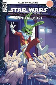 STAR WARS ADVENTURES ANNUAL 2021 CVR A FLOREAN (IDW PUBLISHING) 11121