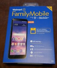 "Walmart Family Mobile LG Journey LTE 5.45""/16GB/8MP Cam Smartphone Black NEW"