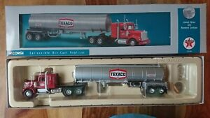 Corgi US55703 Kenworth W925 Semi Tanker TEXACO Ltd Edition