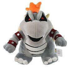 "Super Mario Bros. 3D World 10"" Dry Bowser Bones Koopa Plush Toy Soft Doll"