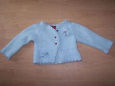 CHIPIE Girls Long Sleeve Angora, Wool Blend Light Blue Sweater Cardigan Size 2T