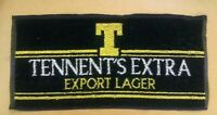 new tennents extra export lager beer home pub drip drink bar towel man cave gift