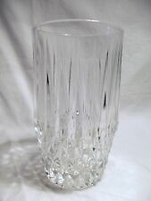 *NEW* Set of 4 vintage FOSTORIA clear CRYSTAL glass STRATTON hiball GLASSES