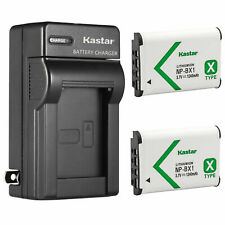 Kastar Battery Wall Charger for Sony NP-BX1 BC-CSX & Sony Cyber-shot DSC-HX80