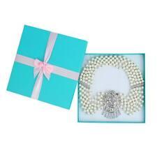 Audrey Hepburn Breakfast at Tiffany's Premium 5 Strand Pearl Necklace