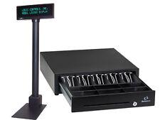 Bematech Logic Controls Ld1000 Pos Customer Pole Display Usb + Cash Drawer New