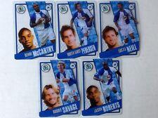 TOPPS PREMIER LEAGUE 2006/07 I-CARDS. FULL SET OF ALL 5 BLACKBURN