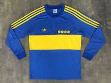 1981 Boca Juniors Home Long Sleeve Retro Soccer Jersey