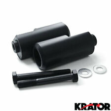 Frame Sliders Crash Protector No Cut Black Delrin for Yamaha YZF R1 04-06 New x2