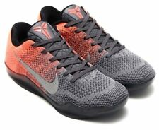Nike Zoom Kobe XI 11 Elite Low Easter Shoes Bright Mango Grey SZ 11 822675-078