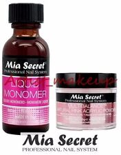 Mia Secret Acrylic Nail Powder Multibalance + Liquid Monomer 1 oz Set - USA